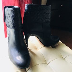 My Coach leather boots